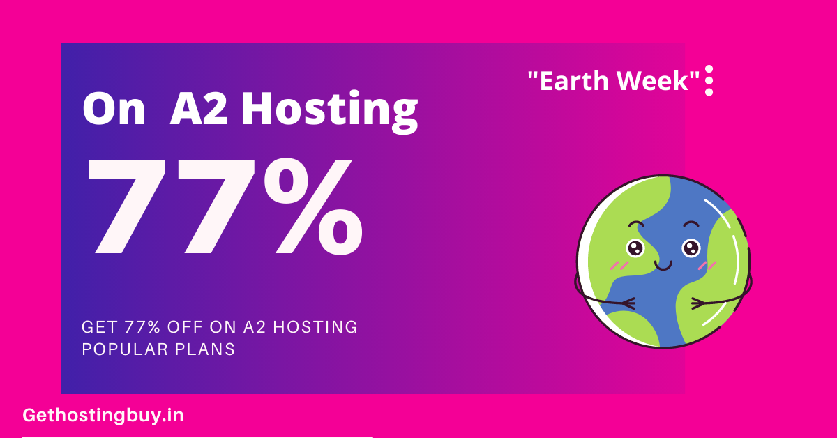 Get 77% off on A2 Hosting (2)